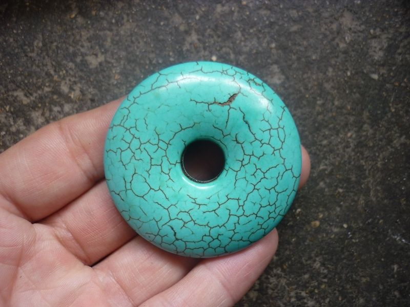 Antique if not ancient turquoise bi being sold as