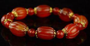 Buddhist Agate Bracelet