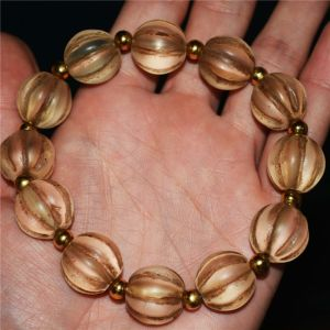 Tibetan Crystal Squash Bracelet