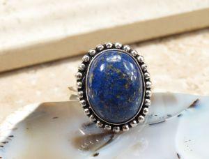 Tibetan lapis ring