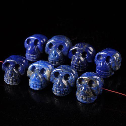 Lapis lazuli skulls for sale en masse