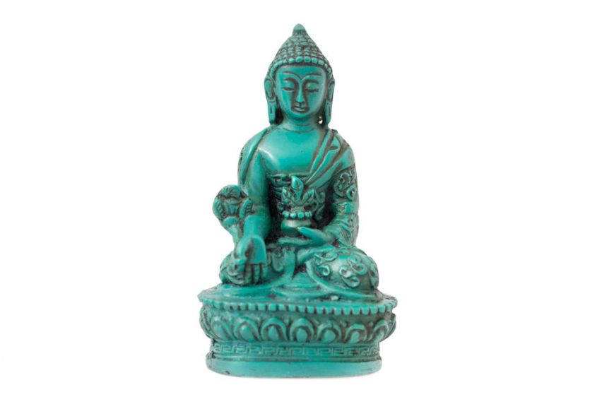 Turquoise Resin Medicine Buddhaja