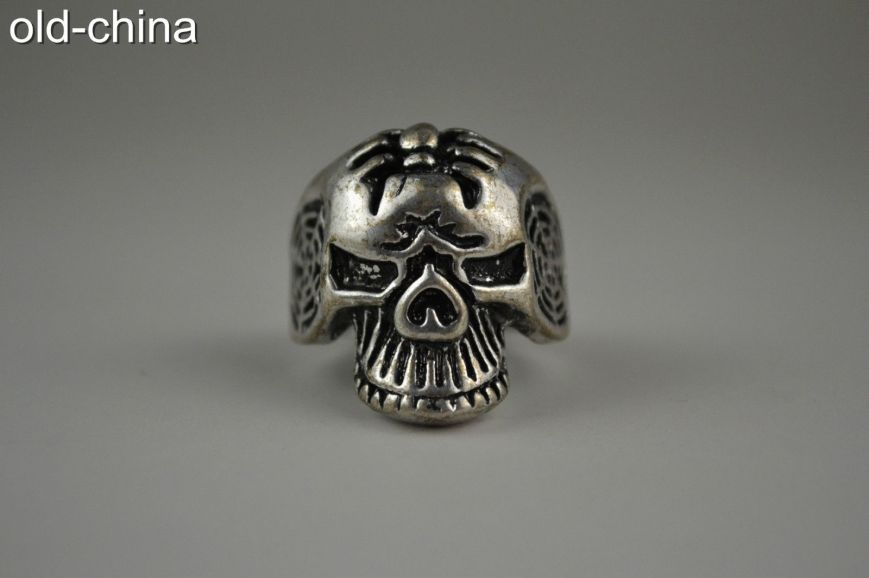 Tibetan Skull Ring
