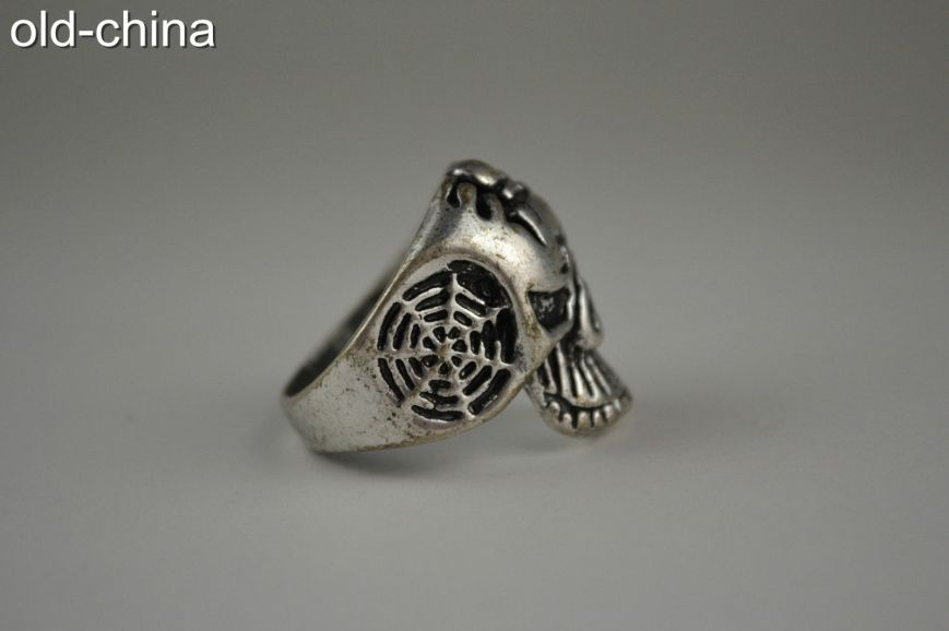 Usually these rings are being sold as new, but this one was too bashed up? Sold in Old-China shop next to antiques.