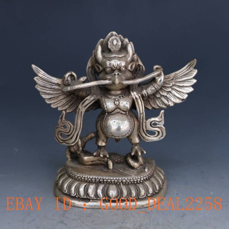 Tibetan silver Garuda