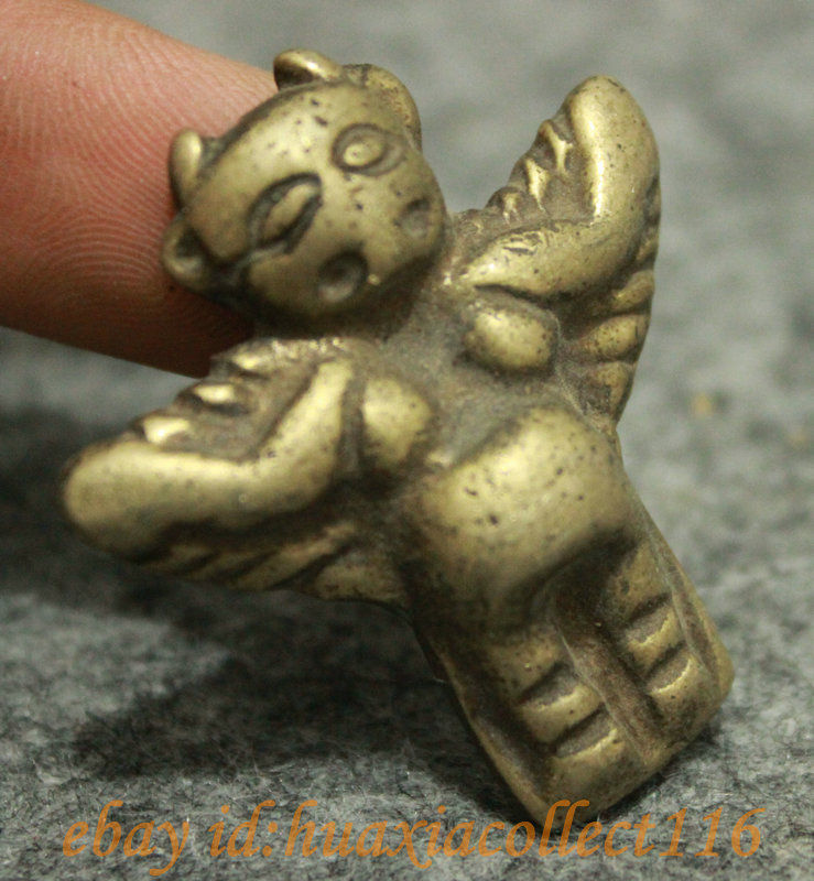 Early Hongshan(?) Garuda pendant