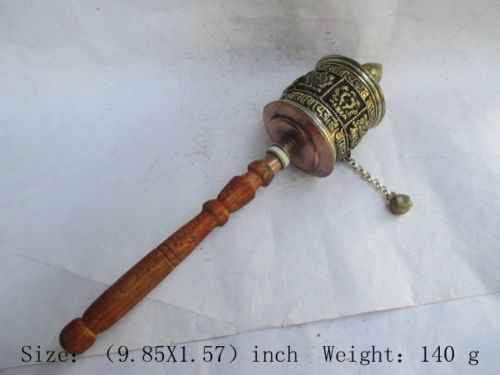 Tibetan Hand prayer wheel