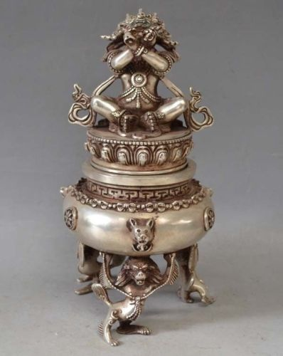 Tibetan Mahalaka incense burner