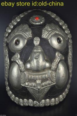 Tibetan Kapala turtle mask